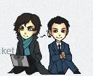 Sherlock and Jim by AStolenRelic