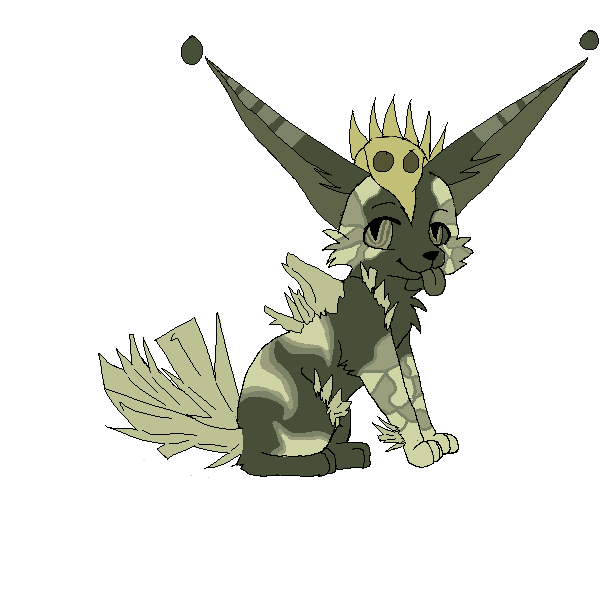 Swamp Crystal Creature (OPEN ADOPT) by AStolenRelic