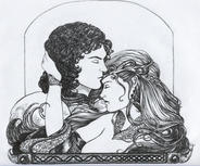 Lancelot and Guinevere by NewRomantic