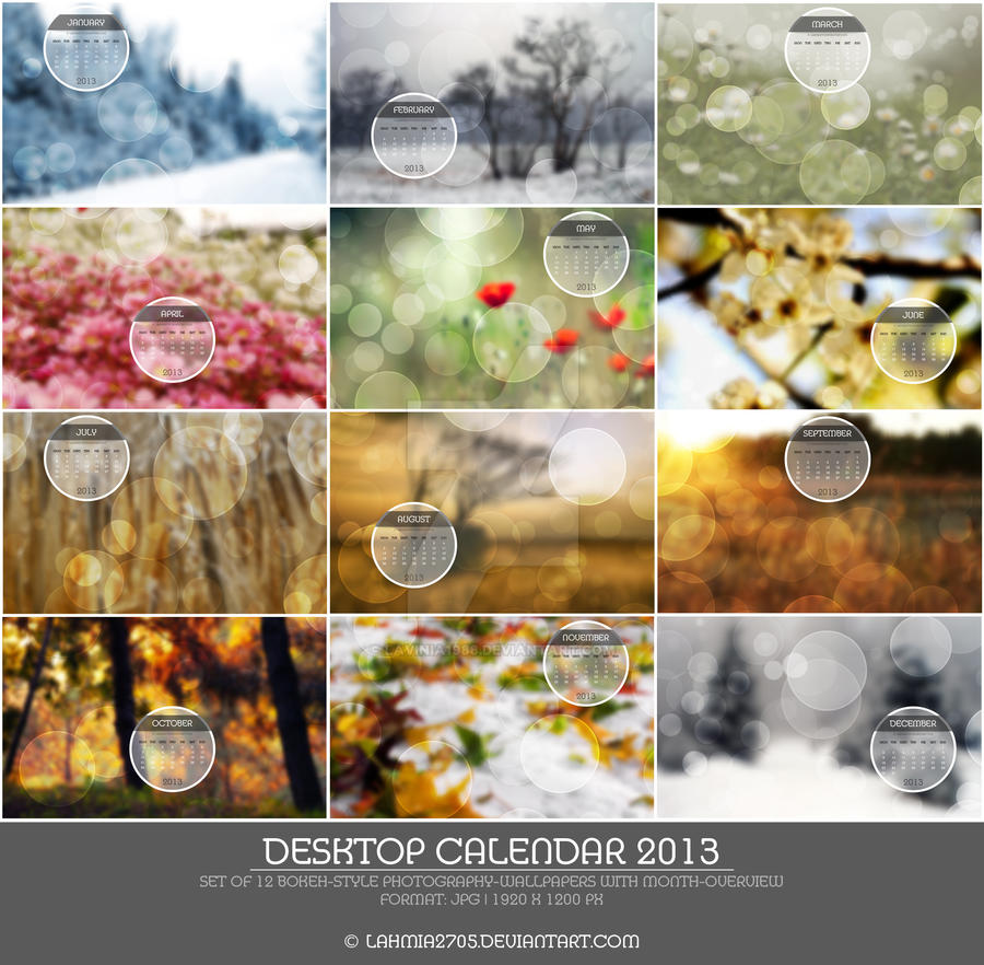 Prev.: Bokeh-Photo Desktop Wallpaper Calendar 2013 by Lavinia1988