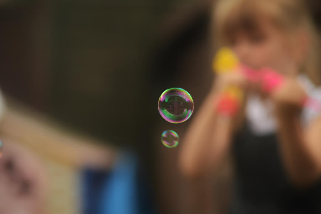 Blowing Bubbles by Just--Saying