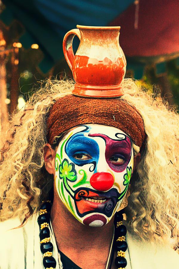 Clown by aflores167