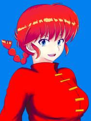 Ranma-chan by adrianarzola