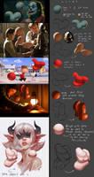 Doing sphere light guide from movie stills