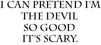 Pretend-devil-001 by Bradley-Stone