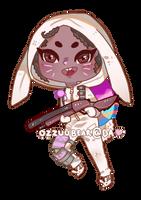 Brawler Bunny by ozzuubear
