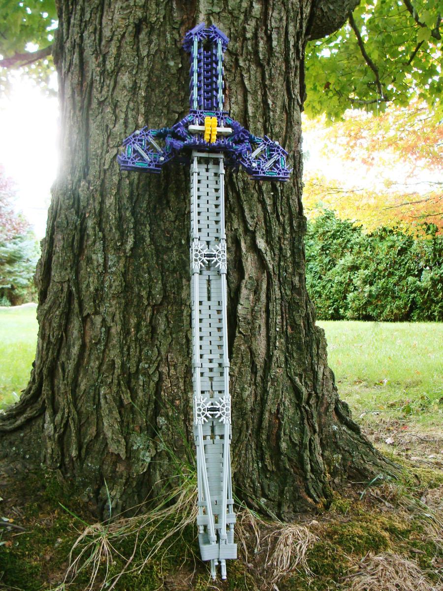 Zelda K'nex Master Sword by Videoboysayscube