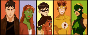 Young Justice Time! by Rin171