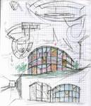 Art School, facade concept. by a01087483