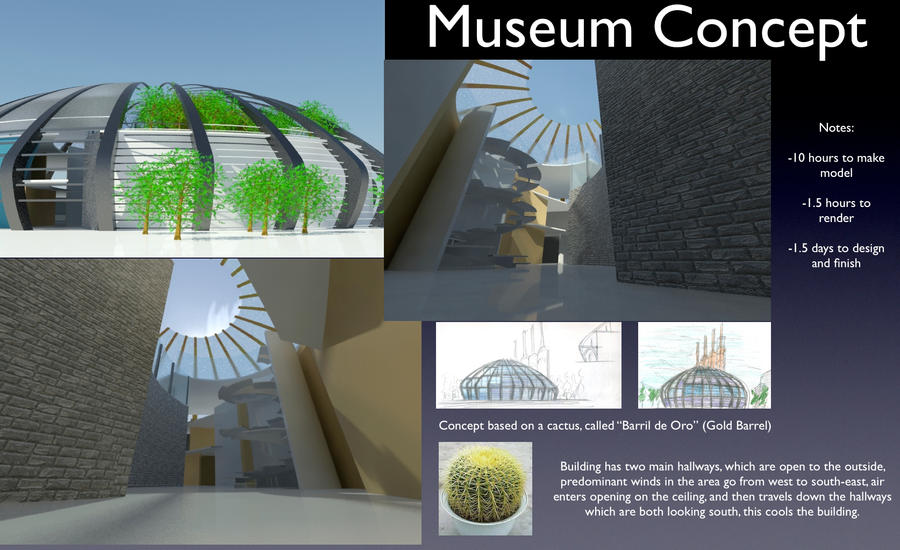 concept sheet in architecture museum concept sheet by
