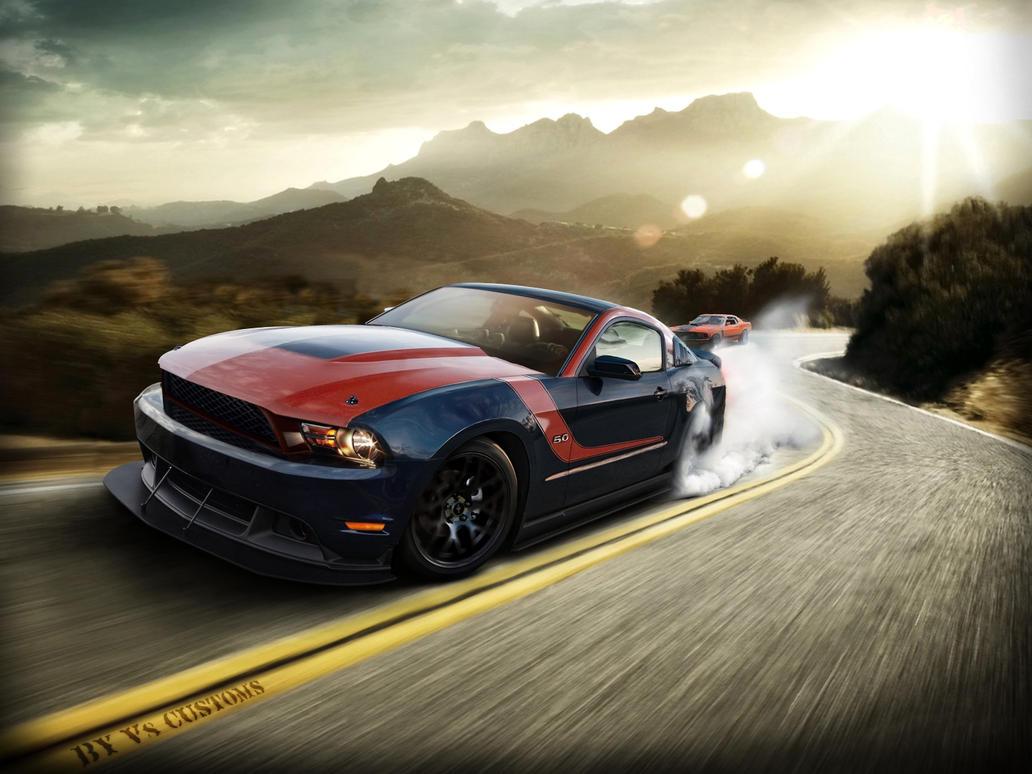 Ford Mustang GT by V8-Custom-Designs