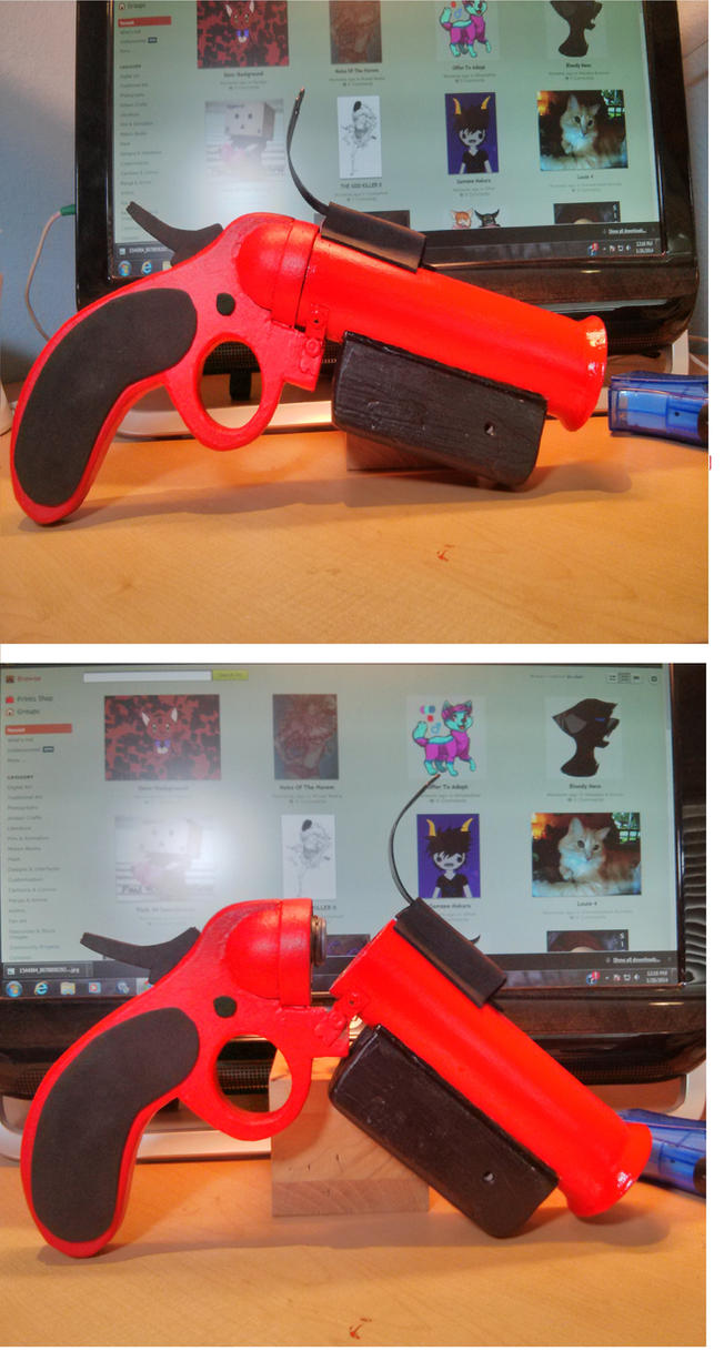 Team Fortress 2 Flare Gun Prop by abnoormal