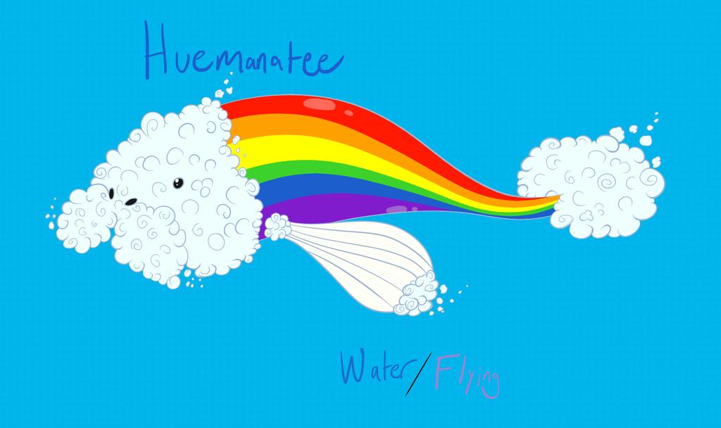 Huemanatee (Friend Fakemon) by BurstingTheSeams