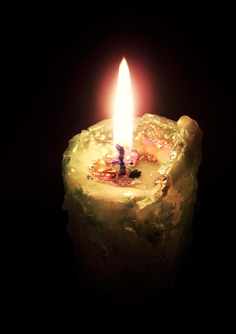 Candle light by OlgaCherkasova