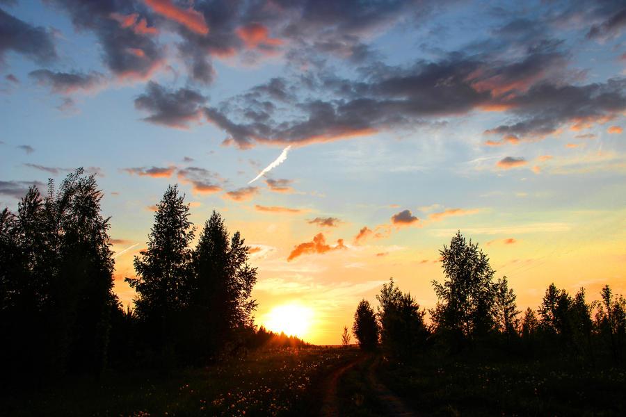 Sunset by OlgaCherkasova