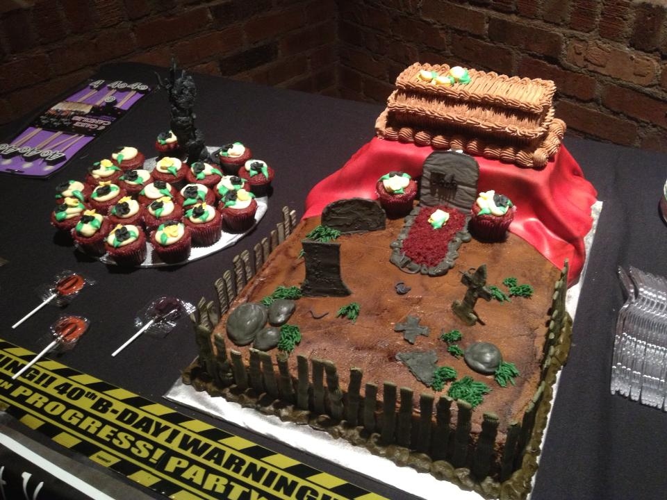 Casket Cake Pics