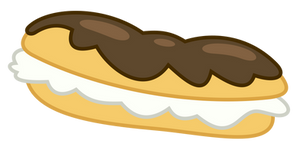 Exceptionally exquisite eclair