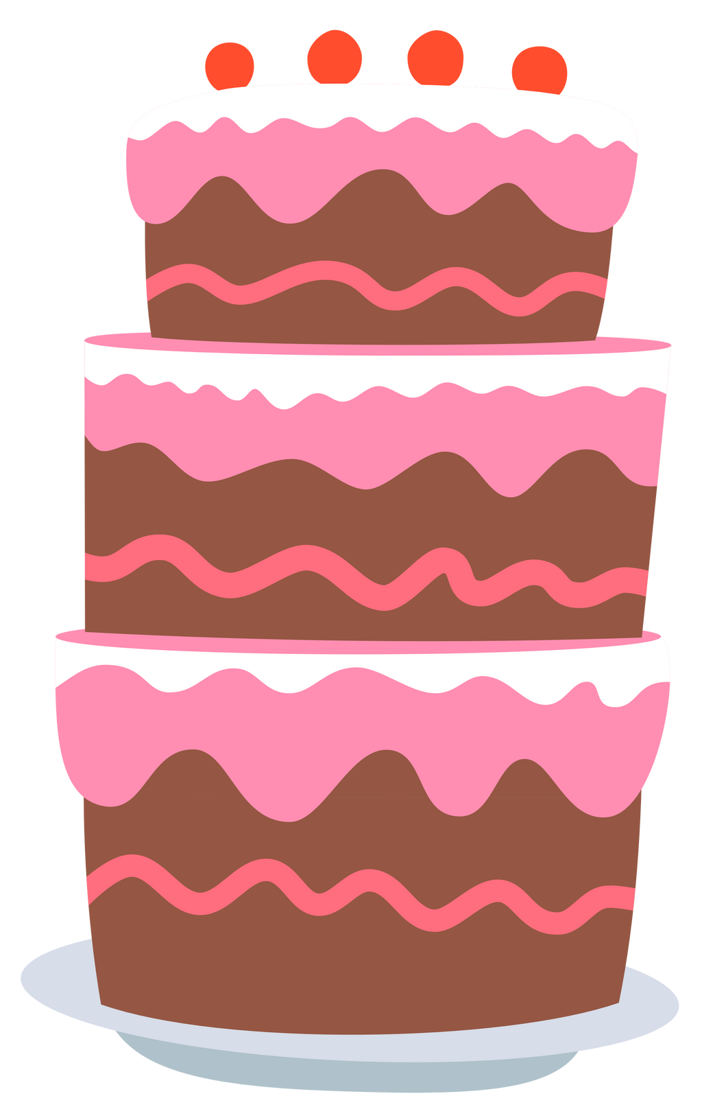 Birthday Cake Vector Art : Gummy s after-birthday party cake by Pikamander2 on DeviantArt