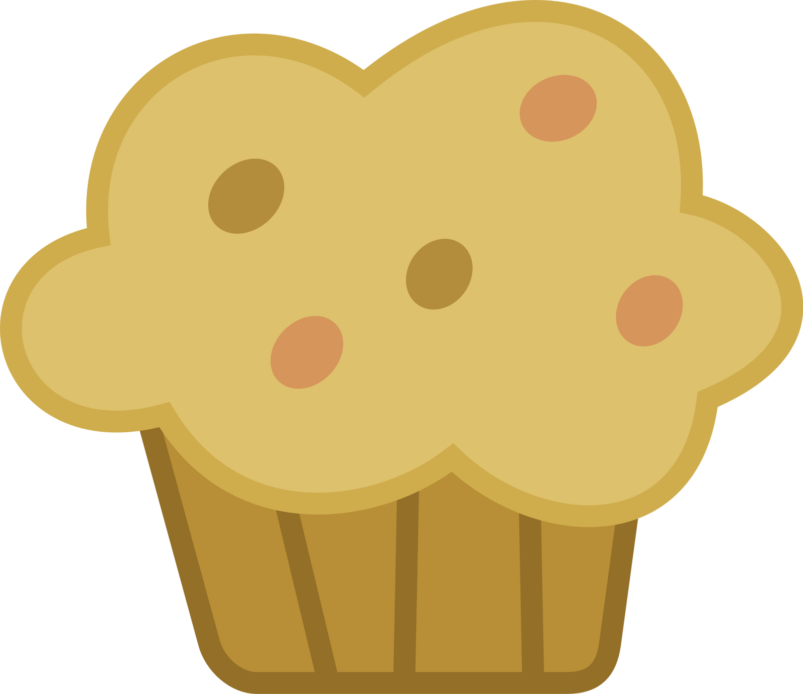 Spectacular muffin