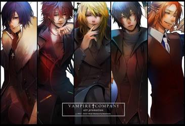 Commission novel - Vampire Company by dreamworm