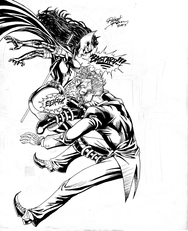 Huntress Smackdown WIP by RobertDanielRyan