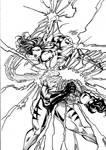 Psylocke vs. Sabretooth