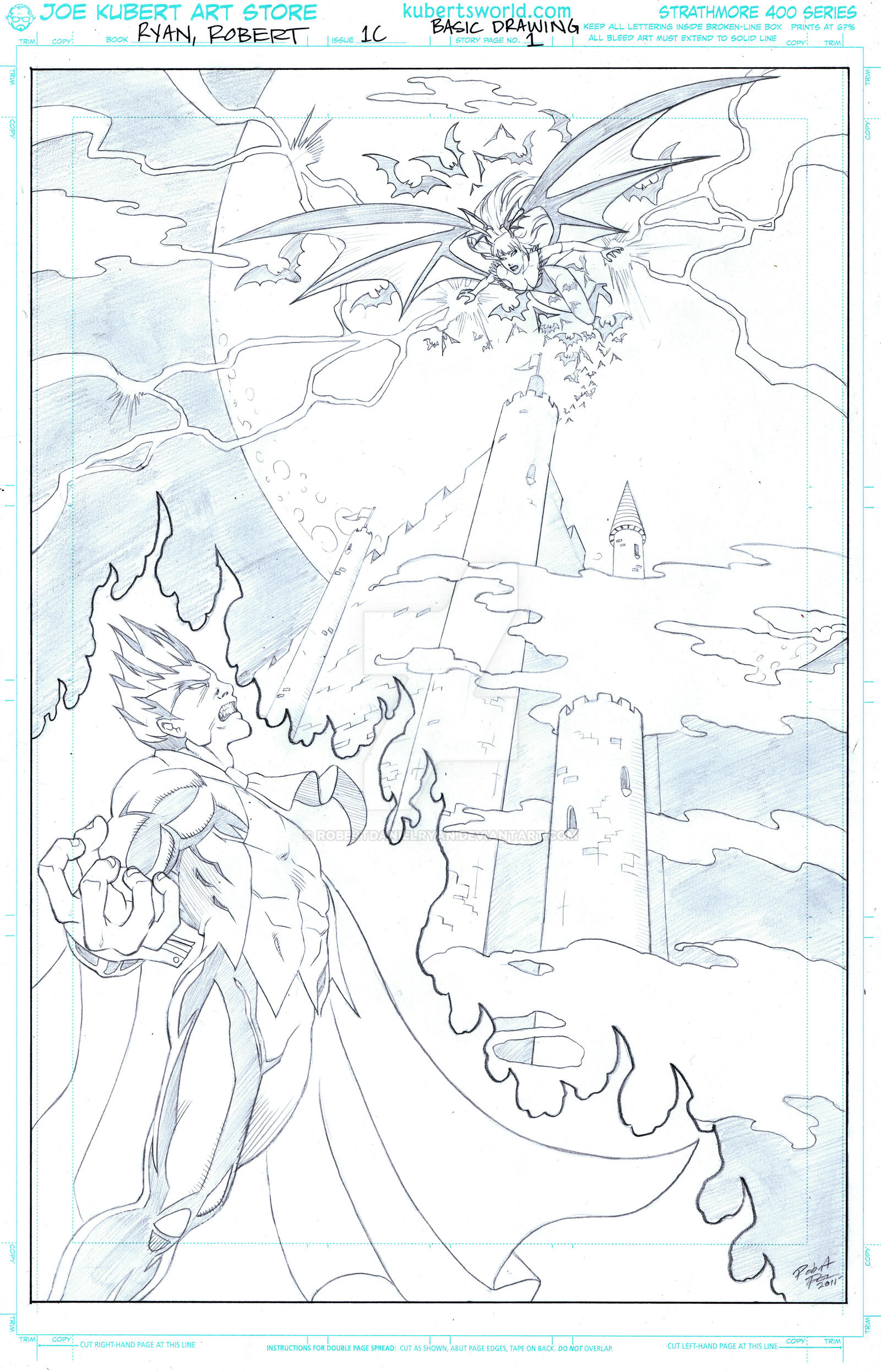 Morrigan vs. Demitri Cover by RobertDanielRyan