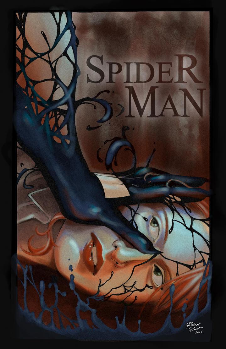 Venom Mary Jane Attack by RobertDanielRyan