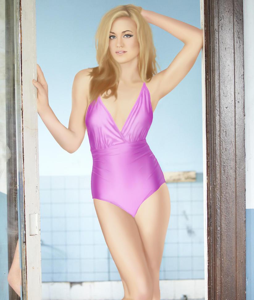 yvonne strahovski swimsuit by eculiny
