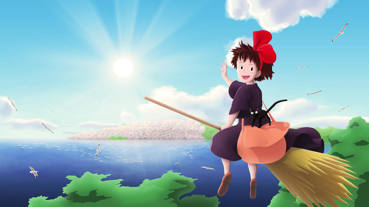 Kiki's Delivery Service by eculiny