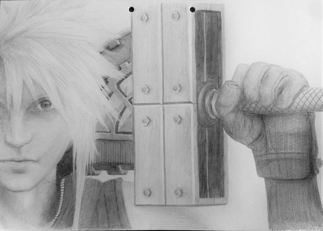 Cloud Strife by eculiny