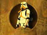 Star Wars - Motar Stormtrooper by MMASportWall1982