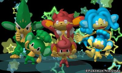 Pokedex 3d - Elemental monkeys by pokedragon004