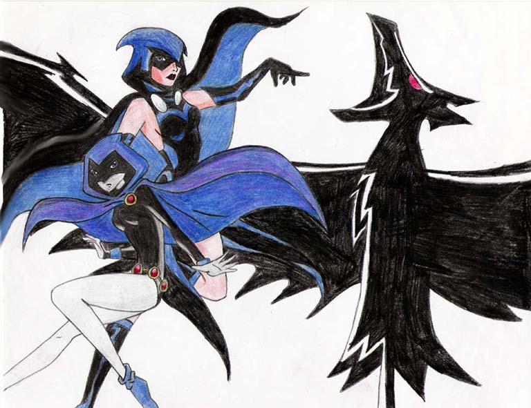 Raven by PandaBumHaHa