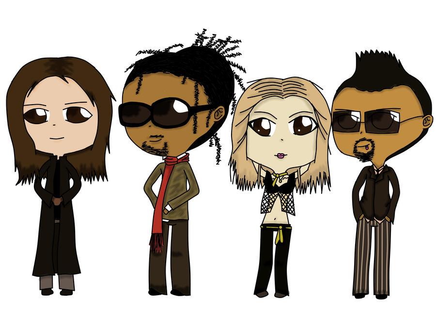 Chibi Black Eyed Peas by Chibi-Hana-Sama