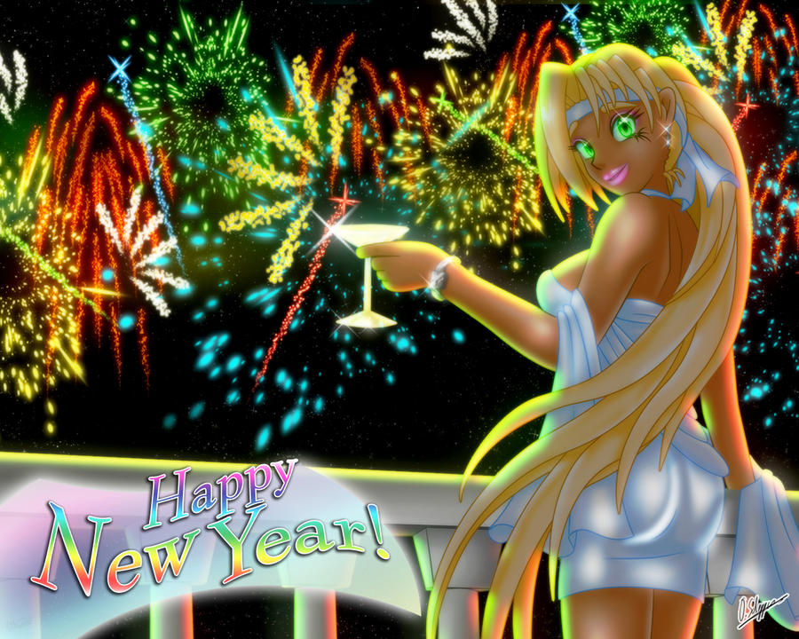 Happy New Year by Skie-Maree