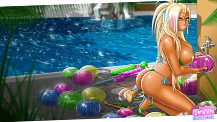 Jiggling Balloons - Desktop by Skie-Maree