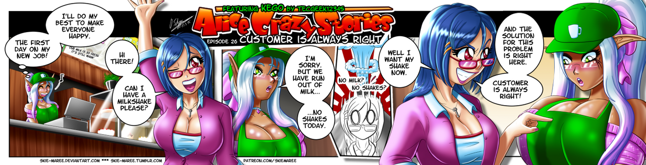 ACS - Episode 26 - Customer is always right. by Skie-Maree