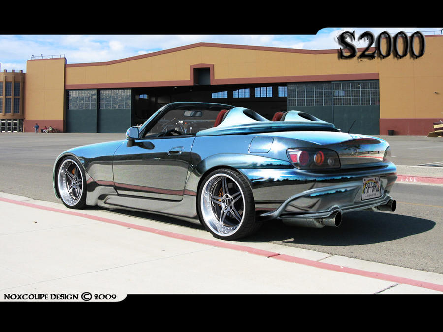 Honda S2000 -- Full Chrome