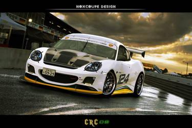 Porsche Cayman Racing Concept by Noxcoupe-Design