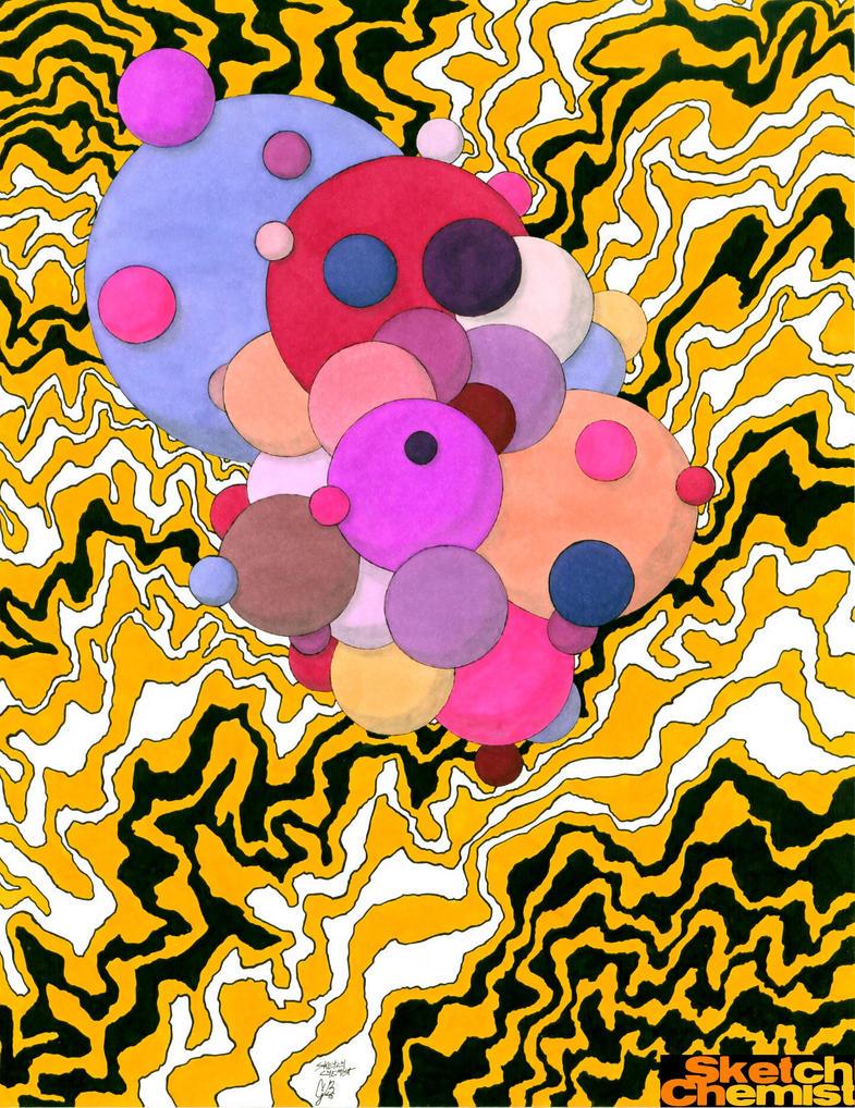 Macaroni Nebula by SketchChemist