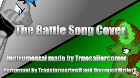 The Battle Song Cover Title Card by RomanceWriter1