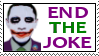 End the Joke Stamp by RedTusker