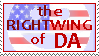 The Rightwing of DA stamp by RedTusker