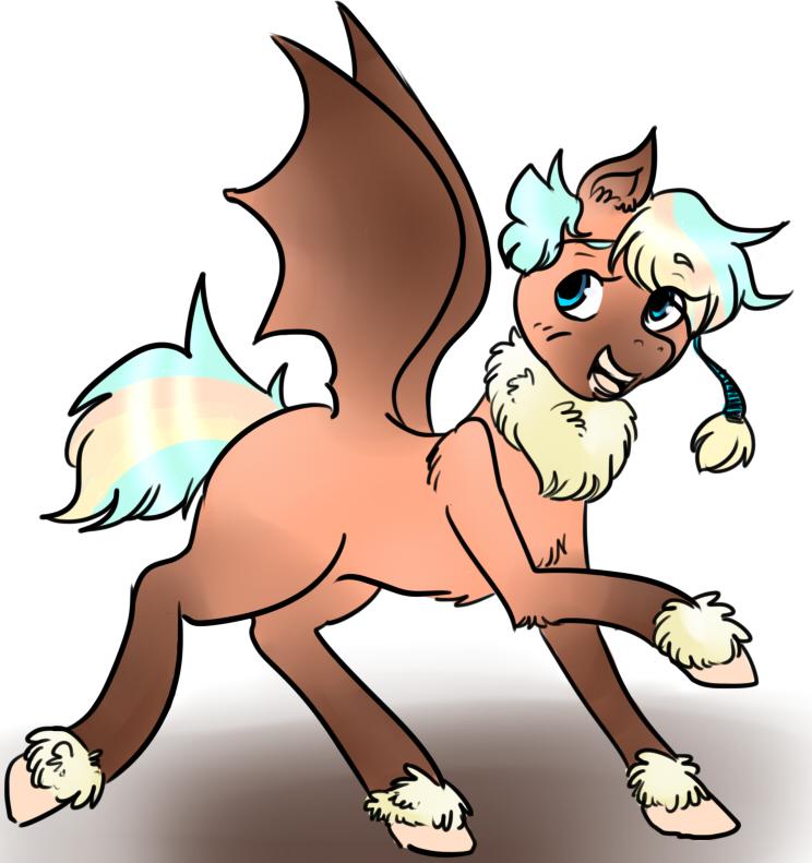 OTA Bat Pony 2 by Aude-Okami