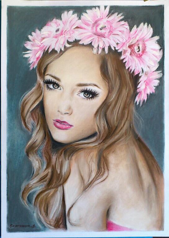 flowerscurly hairmodel by aynasayarsanova on deviantart