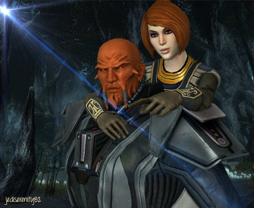 The Hunt - Lord Scourge and Kira Carsen {SWTOR} by jediserenity82