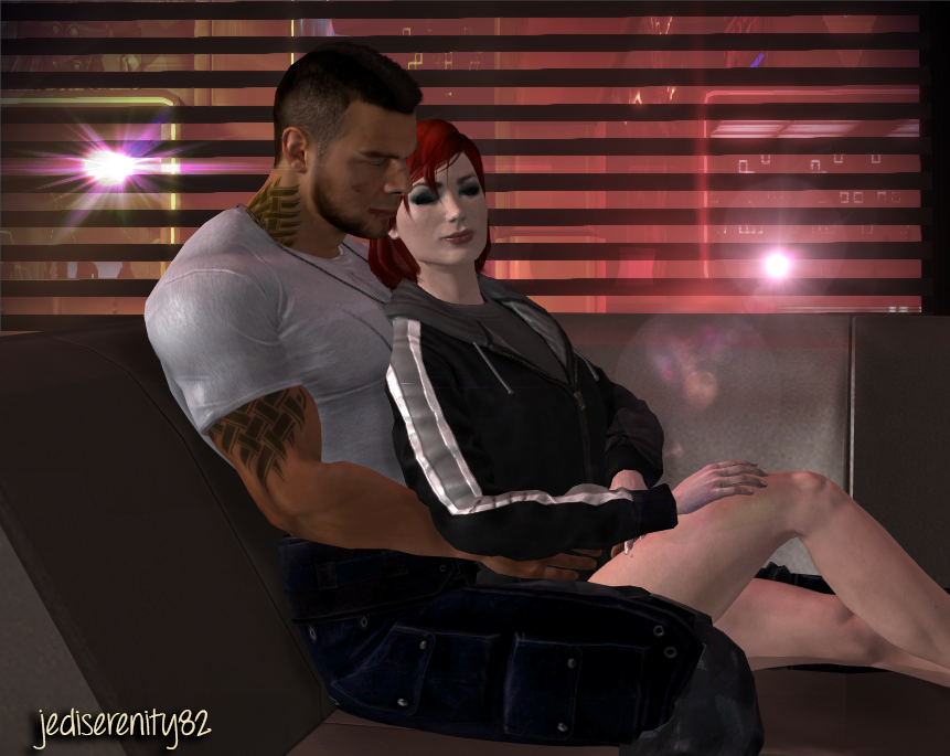 A Quiet Moment Alone - Shega {Mass Effect} by jediserenity82