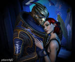 No Shepard without Vakarian {Mass Effect}