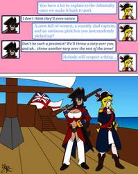 [TG] Pirate Booty Part 2 (Caption) by Jayronzski